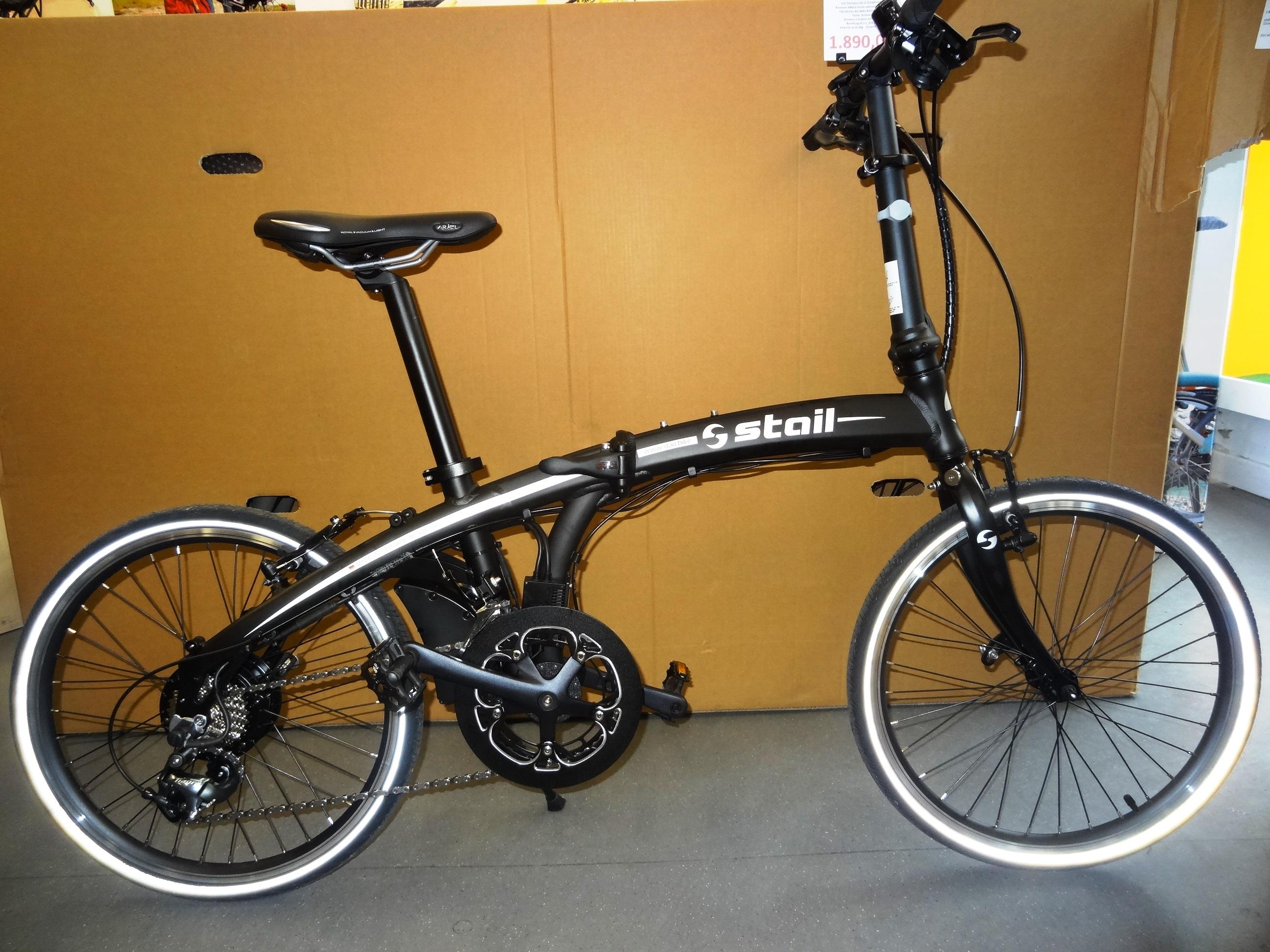 "STAIL 20"" e-Faltbike 20-G-Tiagra, 16 KG"