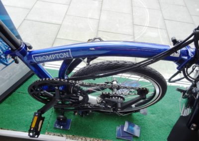brompton electric H2LD bolt blue