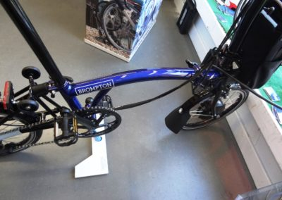 brompton electric H2 bolt blue